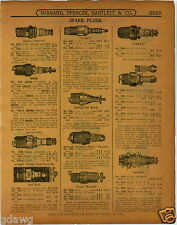1915 PAPER AD Mezger Red Head V Ray Kingston Reliance Bougie Mercedes Spark Plug