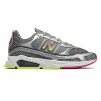Women's New Balance X-Racer / WSXRCHKA / NB Silver Metallic Yellow Pink