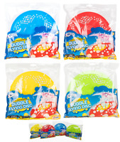 FLYING DISC & BUBBLE MAKING SOLUTION FRISBEE MAKES BUBBLES TRAILS AS IT FLYS