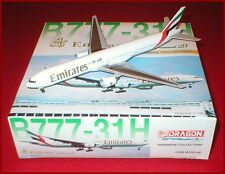 Dragon Wings Emirates Boeing 777-31H 1/400 Diecast Plane # A6-EMM NEW IN BOX