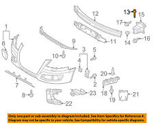 AUDI OEM 06-13 A3 Front Bumper Grille Grill-Impact Bar Mount Bolt N10572102