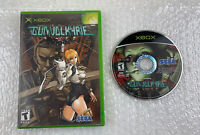 Gunvalkyrie (Microsoft Xbox, 2002) Case & Disc Only, Tested & Working