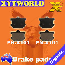 Front Organic Brake Pads 1977-1979 Yamaha XS650 Set Full Kit D E F 2F rr