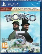 TROPICO 5: LIMITED SPECIAL EDITION GAME PS4 ~ NEW / SEALED