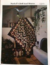 Santa Fe Quilt  & Shams Pattern QP1171 by Pam Bono Designs
