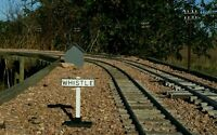 G scale whistle sign