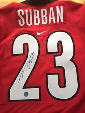 Signed PK Subban Team Canada WJC  Jersey Autographed COA