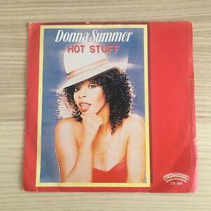 "Donna Summer _ Hot Stuff _ Vinile 45giri 7""_ 1979 Casablanca Italy DISCO MINT"