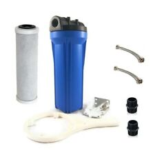 In-Line Mains Undersink Water Filter System High Flow
