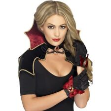 Fever Vampire Kit Ladies Halloween Vampiress Fancy Dress Outfit