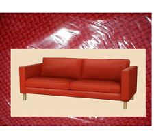 "IKEA Karlstad 3 Seat Korndal Red""Tweed""Cover ONLY Fire Engine(MatesAvail)Sofa"