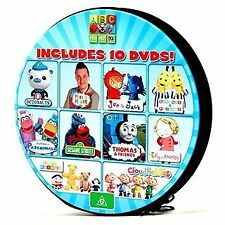 ABC FOR KIDS - 10-DISC DVD SET: Sesame Street, Octonauts, Play School and MORE