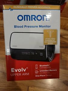 Omron Evolv BP7000 Wireless Upper Arm Blood Pressure Monitor Factory Sealed!