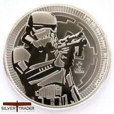 2018 1oz Stormtrooper Silver Star Wars 1 ounce Silver Bullion Coin unc: