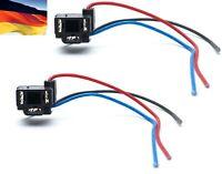 Flosser Wire Harness 4445 Pigtail Female 9003 HB2 H4 Fog Light Bulb Socket Plug