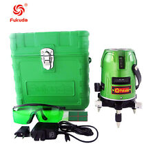 Green Laser Level 5 Line 1 Point 360 Rotary Laser Level self-leveling EK-469GJ