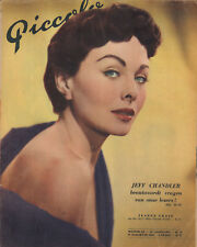 MAGAZINE PICCOLO 1955 nr. 32 -  JANE RUSSELL & JEANNE CRAIN / JEFF CHANDLER