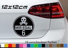 Feinstaubplakette 12x12cm Spaß Aufkleber Diesel Verarsche VW Skandal Umwelt JDM