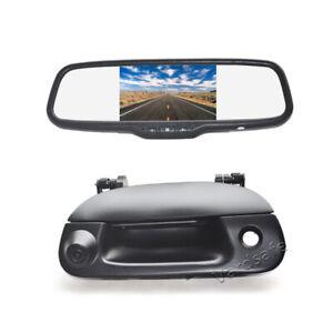 Tailgate Rear View Camera +5'' Mirror Monitor for Ford F150 F250 F350 F450 F550