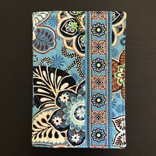 "**NEW**VERA BRADLEY Bali Blue Paperback Book Cover 5""x 7.5"""