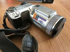 Sony Cybershot Digital Camera DSC-F717 Carl Zeiss Lens With Leather Case Boxed