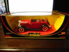 Solido - Ford Roadster (Red) (1:18)(ref.8008)
