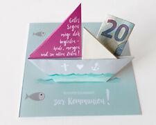 3D-Geschenkebox Zur Kommunion toll für Geldgeschenke  Handarbeit