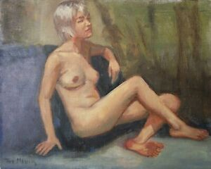 Artist's Original Oil Painting- Female Nude painted from Life