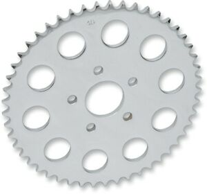 Steel 530 Conversion Sprocket 51T Flat Chrome DrS. 1210-0366 For 00-19 Harley
