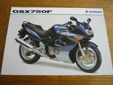 SUZUKI GSX 750 F MOTORBIKE BROCHURE 1998/99 - POST FREE (UK)