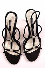 Stiletto Leather Sandals Party Heels for Women