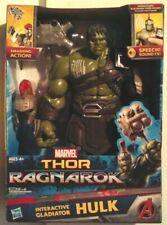 Marvel Thor Ragnarok Interactive Gladiator Hulk Electronic Figure New MISB