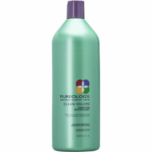 Pureology Clean Volume Condition 1 liter / 33.8 Oz NEW--Free shipping