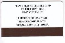 CARTE / CARD  HOTEL CLE  KEY .. HILTON HOMEWOOD SUITES 2005 FAMILY MAGNETIQUE