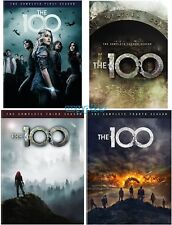 The 100: The Complete Series Season 1-4 (DVD, 2017, 14-Disc Set) 1 2 3 4 Sealed