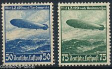 1 RARE CANCELLED NAZI STAMP w ZEPPELIN ON ITS 1ST FLIGHT TO USA! UNCANCEL $24.95