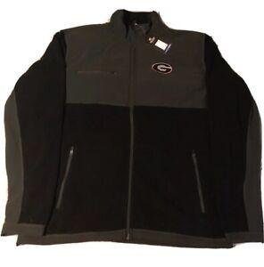 University Of Georgia Zip Up Jacket NCAA Licensed Apparel Men's Small