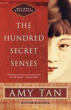 The Hundred Secret Senses Paperback Novel Red Book Cover Author Amy Tan 1998