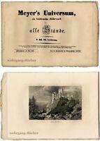 Meyer's Universum: V. Bd., IX. Lieferung. Mit 4 Stahlstichtafeln von 1838