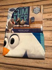 "Disney Frozen Olaf ""Wild For Summer� Shower Curtain - New"