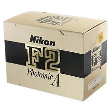 Nikon F2A Film Camera Body Boxed