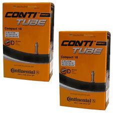 "2 Stück Conti Continental Fahrrad Schlauch Compact 16"" Zoll Blitzventil (305) DV"