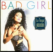 LA TOYA JACKSON - BAD GIRL - CARD SLEEVE 3 INCH 8 CM CD MAXI