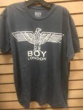 BOY London Large 100% Authentic NEW Mens T-shirt Pebble Gray #22