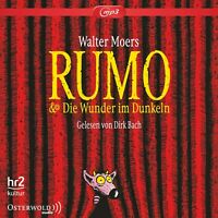 DIRK BACH - WALTER MOERS: RUMO UND DIE WUNDER IM DUNKELN (MP3) 4 CD-ROM NEW