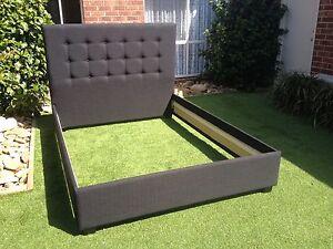 Somerset King Size Upholstered Bed / Australian Made Beds