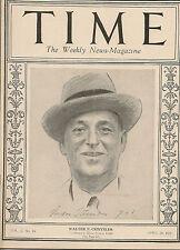 Time Magazine  April 20, 1925  Walter P. Chrysler