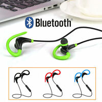 Stereo Earphone Headphone Headset Bluetooth Wireless Sport For Samsung LG iPhone