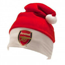 Official Arsenal Football Club Gift Supersoft Christmas Santa Winter Hat