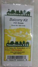 RIX PRODUCTS / SMALLTOWN USA Balcony Kit HO Scale 699-0006
